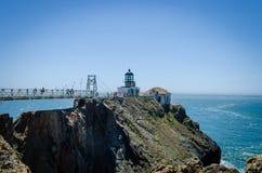 Punkt Bonita Lighthouse Lizenzfreie Stockfotografie
