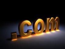 Punkt-COM Lizenzfreies Stockbild