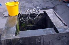 Punkt der Wasserzeichnung Lizenzfreies Stockfoto