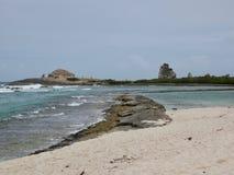 Punkt-DES-Chateaux-Guadeloupe-Französische Antillen lizenzfreies stockfoto