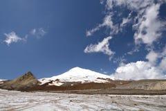 punkt elbrusEuropa för högst maximum russia Royaltyfri Bild