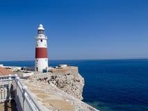 Punkt Europa-Leuchtturm Lizenzfreie Stockfotos