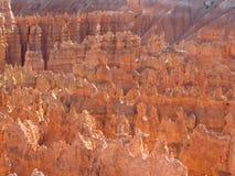 Punkt för Bryce kanjonsolnedgång Royaltyfri Fotografi