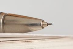 punkt för leadblyertspenna Fotografering för Bildbyråer