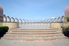 Punkt för Pakistan monumentsikt Arkivbilder