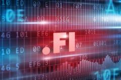 Punkt-FI-Konzept Lizenzfreies Stockbild