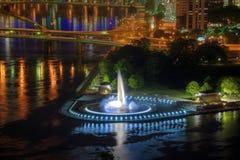 Punkt fontanna, Pittsburgh Obraz Stock