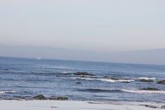 Punkt Joe, Pebble Beach, 17 mil drev, Kalifornien, USA Royaltyfria Foton