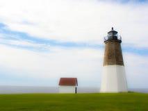 Punkt Judith Lighthouse Fotografering för Bildbyråer