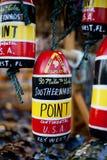 punkt kluczowy zachód południowy pamiątkarski Fotografia Stock