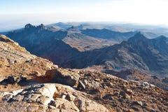 Punkt Lenana, Mount Kenya Arkivbilder