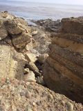 Punkt Lobos, Kalifornien Arkivfoto