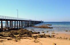 Punkt Lonsdale Pier stockfoto