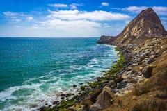 Punkt Mugu-Felsen Stockbild