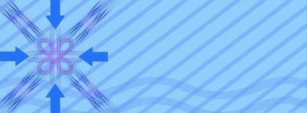 - punkt nagłówka banner Obraz Stock