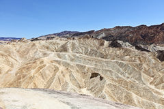 Punktlandschaft Death Valley Zabriskie Stockfoto