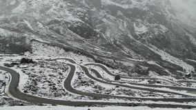 Punkt-Null, Sikkim Lizenzfreie Stockbilder