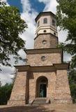 Punkt obserwacyjny basztowy Babylon w republika czech, wierza jest kamienny w Empir Fotografia Royalty Free