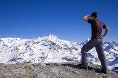 punkt obserwacyjny góry Obrazy Royalty Free