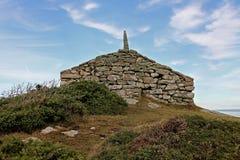Punkt obserwacyjny i sposobu punkt, Rhoscolyn, Anglesey, Walia Zdjęcie Stock