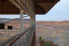 punkt obserwacyjny kopalnia zdjęcia stock