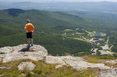 Punkt obserwacyjny Od Mt mansfield Obraz Stock