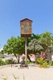 Punkt obserwacyjny poczta w George Town Uroczysta kajman wyspa Obrazy Stock