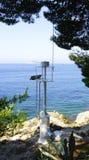 Punkt obserwacyjny w Cavtat Zdjęcie Royalty Free