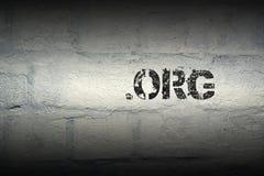 Punkt org GR lizenzfreies stockbild