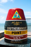 punkt południowy Fotografia Royalty Free