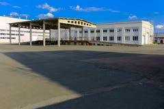 Punkt pogrzeb odpad radioaktywny Chernobyl obraz royalty free
