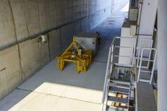 Punkt pogrzeb odpad radioaktywny Chernobyl zdjęcie royalty free