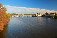 Punkt Praga Fotografia Royalty Free