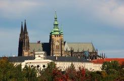 Punkt Praga obrazy royalty free