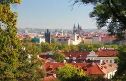 Punkt Praga Zdjęcia Royalty Free