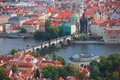 Punkt Praga Zdjęcie Royalty Free