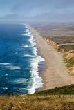 Punkt Reyes Beach Arkivfoton