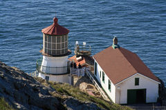 Punkt-Reyes-Leuchtturm Lizenzfreie Stockbilder