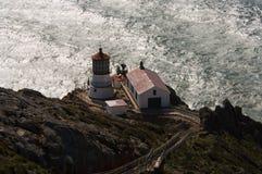 Punkt-Reyes-Leuchtturm Lizenzfreie Stockfotos