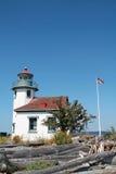 Punkt Robinson Lighthouse arkivfoton