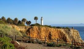 Punkt Vicente i Rancho Palos Verdes Fotografering för Bildbyråer