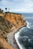 Punkt Vicente Lighthouse, Palos Verdes California Royaltyfri Foto