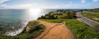 Punkt Vicente Panorama arkivfoton
