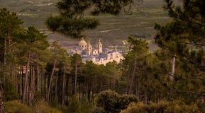 Punkt widzenia El Escorial Zdjęcia Royalty Free