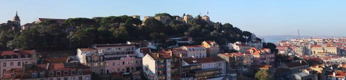 Punkt widzenia Miradouro da Senhora robi Monte Zdjęcie Royalty Free