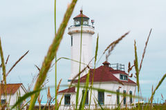 Punkt-Wilson-Leuchtturm Stockbild