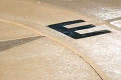 punkt wschodniego kompas Zdjęcie Stock