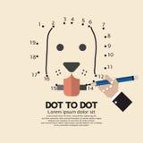 Punkt zu Dot Animal Games Lizenzfreie Stockfotografie