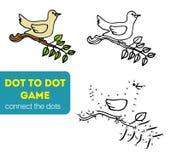 Punkt zu Dot Games für Kinder Stockfotografie