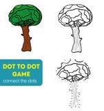 Punkt zu Dot Games für Kinder Stockbilder